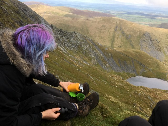 Jennifer Tulip the Thrifty Magpies Nest Outdoor Bloggers Blencathra Flask