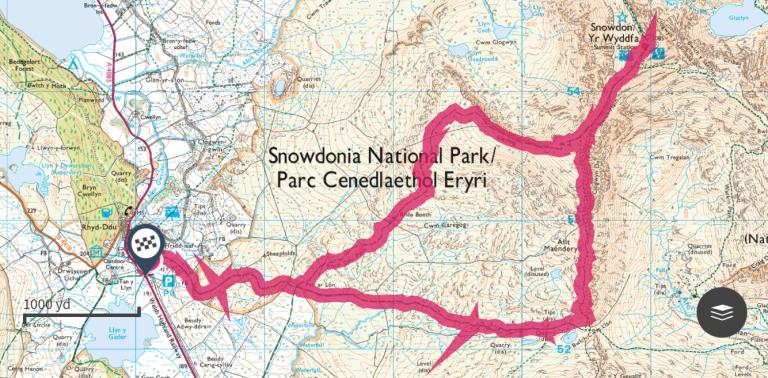 snowdon-route
