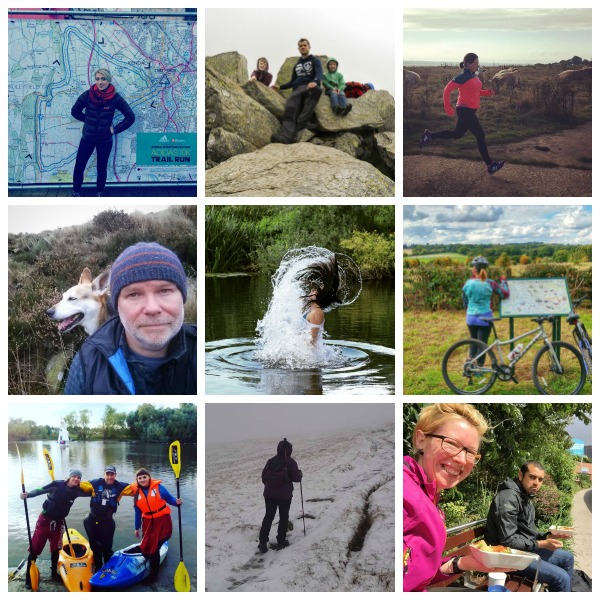Outdoor Bloggers collage