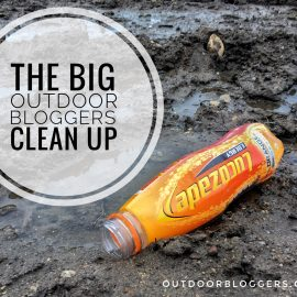 THE BIG OUTDOOR BLOGGERS CLEAN UP