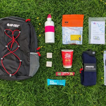 OUTDOOR BLOGGERS WEEKEND 2018 | THE GOODIE BAG