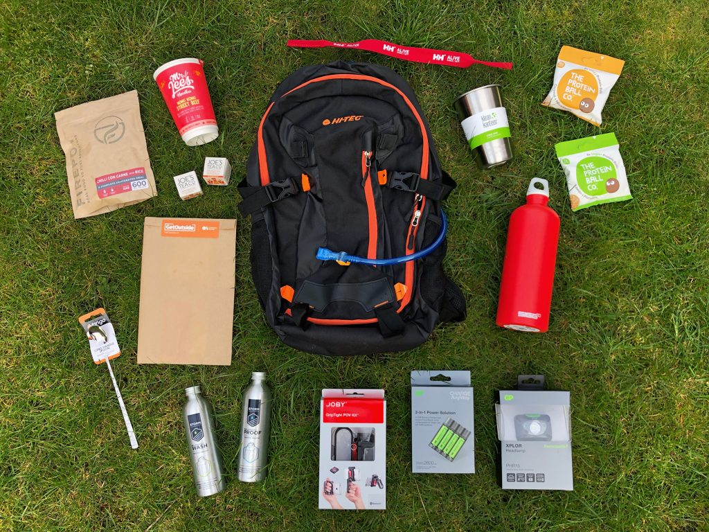 Outdoor Bloggers Spring Camp Goodies 2019